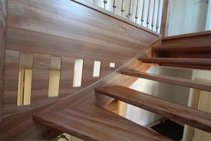 Rüster Holz treppen tischlerei kasper
