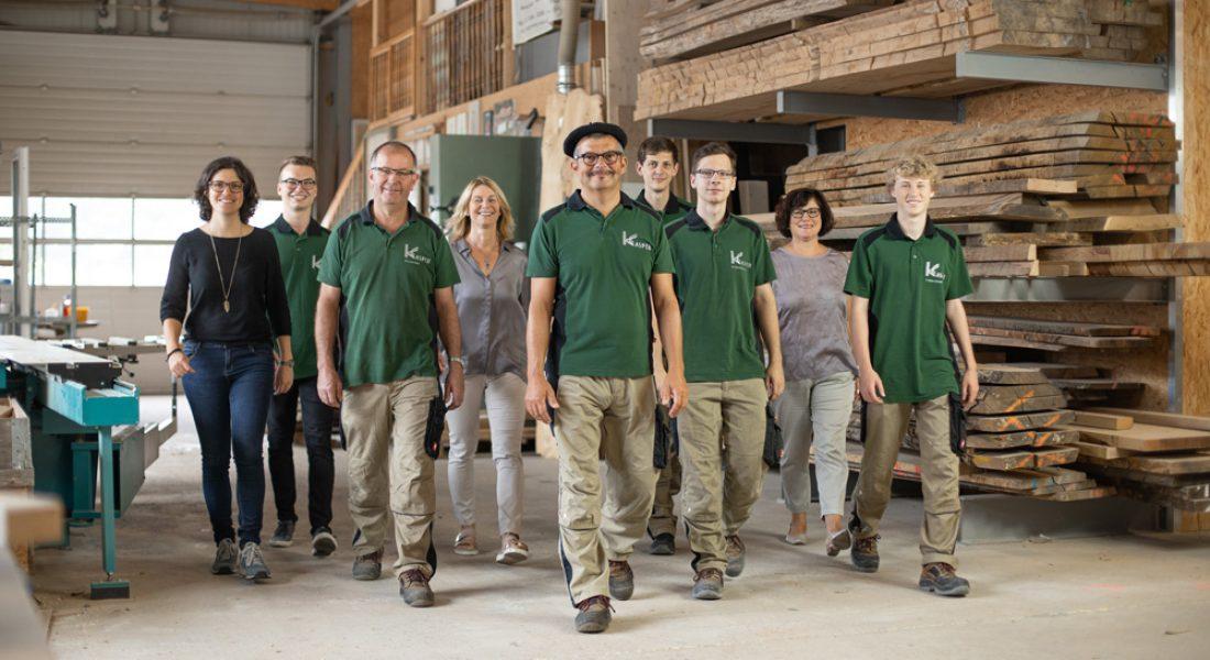 Tischlerei-Kasper-Team-Werkstatt