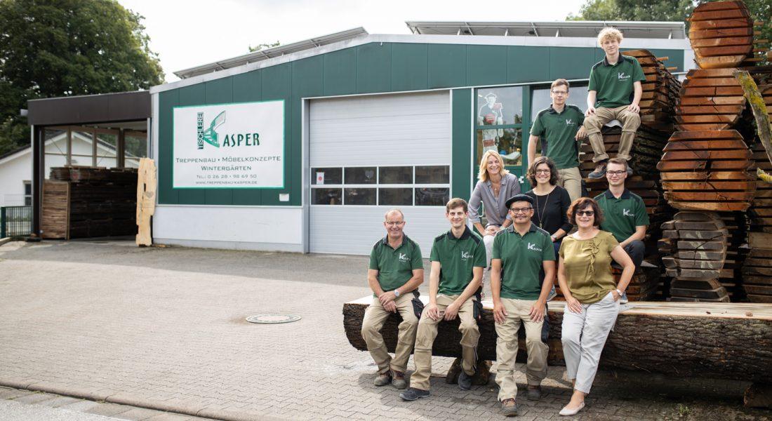 Tischlerei-Kasper-Teamfoto